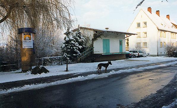 DAs ehemalige Milchhäusle in Arlen